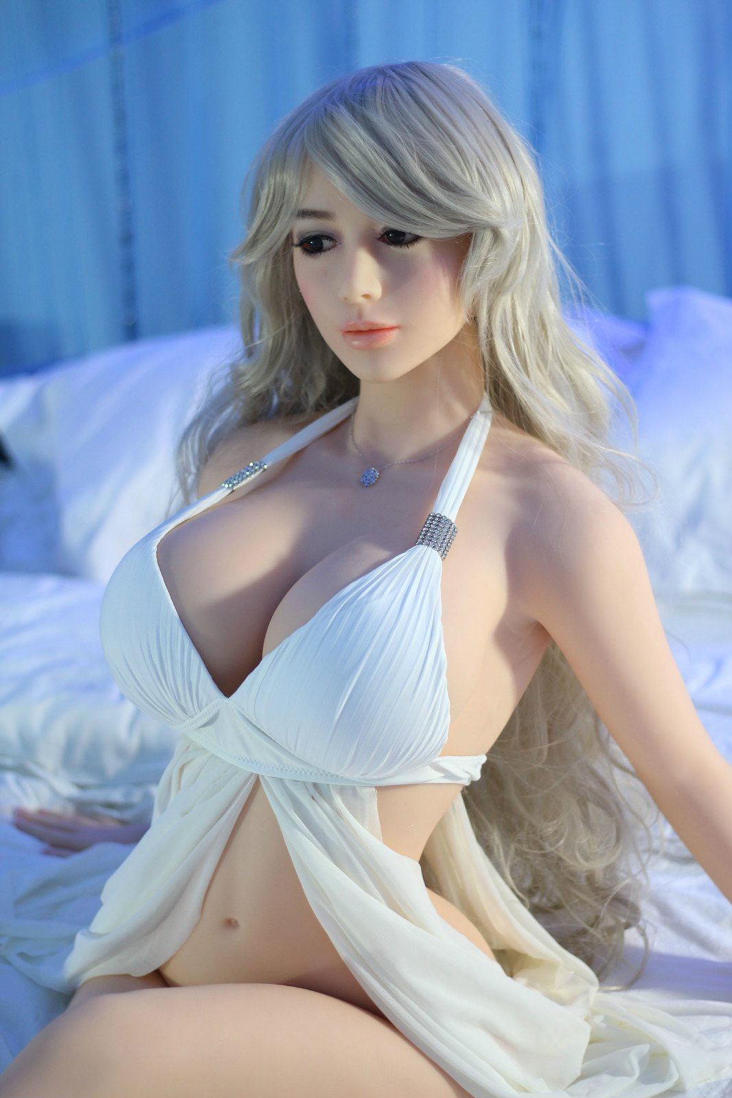 Silicone sex doll is cocksucking champion of the world 5