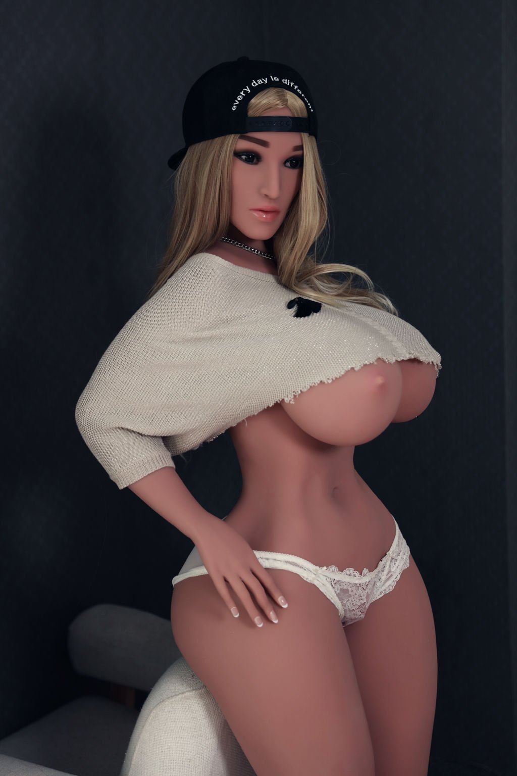 Huge tits sex doll